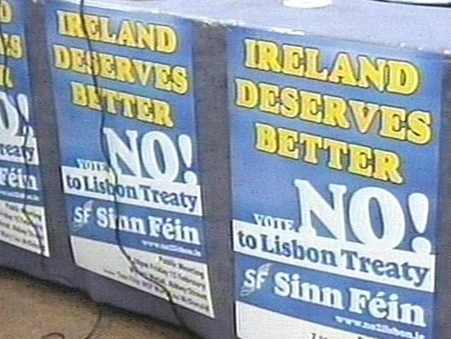 Sinn Féin - Urging rural Ireland to vote no