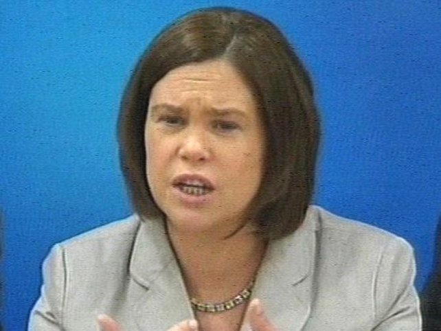 Mary Lou McDonald - Accuses ministers over treaty