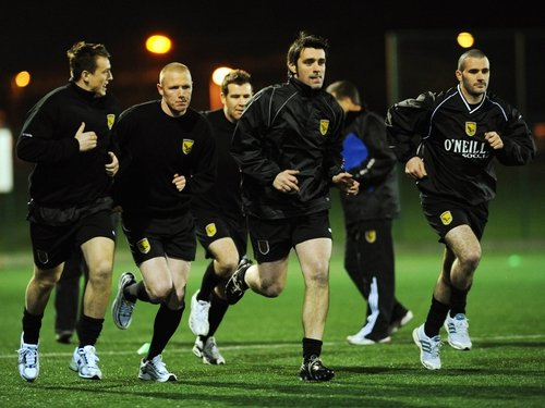 Sporting Fingal's players are put through their paces