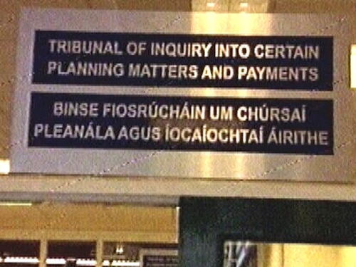 Mahon Tribunal - Gilbride denies bribe
