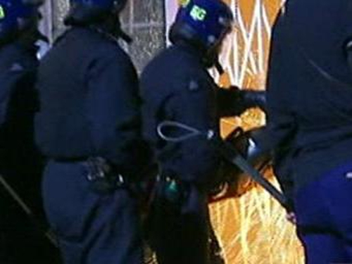 Police - Early morning raid