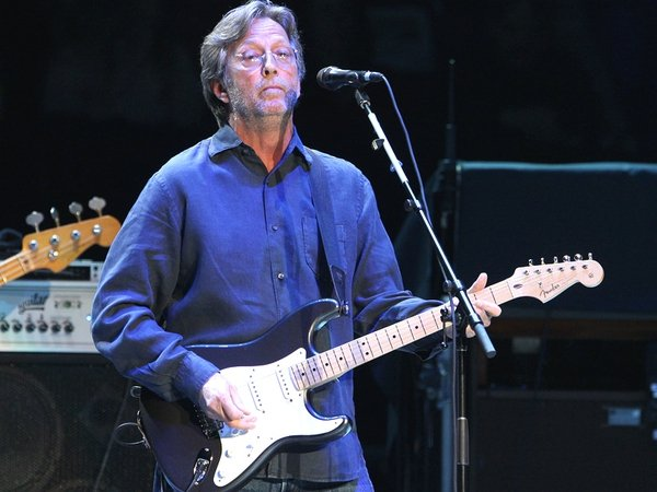 Clapton - Invited to play in the secretive state