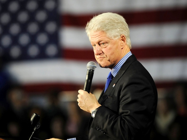 Bill Clinton - Visiting Northern Ireland