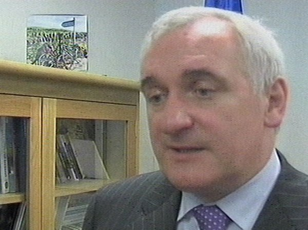 Bertie Ahern - Poll shows lack of trust