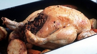 Roast Chicken - Great food for a crowd.