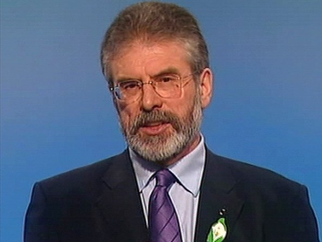 Gerry Adams - Call for rational debate on treaty