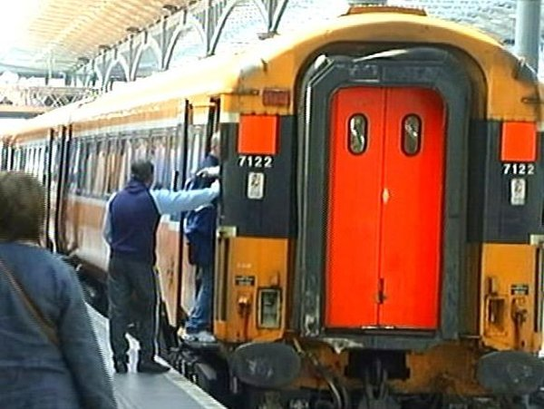 Trains - All services in and out of Heuston were delayed earlier this evening