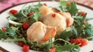 Scallop Salad with Beetroot Sauce