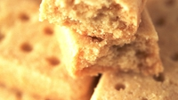 Lavender Shortbread - An unusual twist on the crumbly, buttery treat!