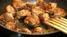 Minted Lamb Balls - Serve with ride for a meal in minutes.