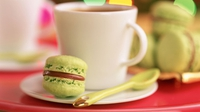 Macaroons - These sugary treats are the perfect afternoon tea snack!