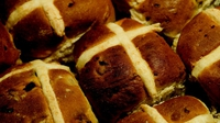 Hot Cross Buns - A seasonal sensation hot from the oven.