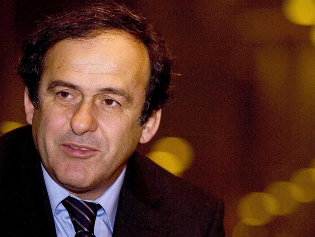 Michel Platini has had his concerns about the 2012 venues being ready