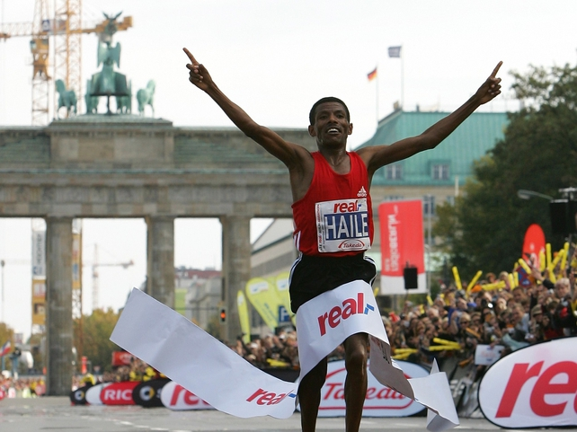 Haile Gebrselassie has broken the world record twice in the German capital