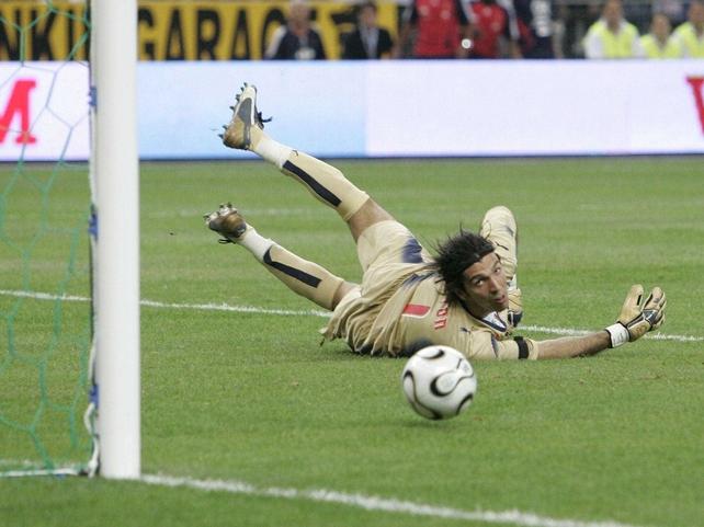 Juventus 'keeper Gianluigi Buffon
