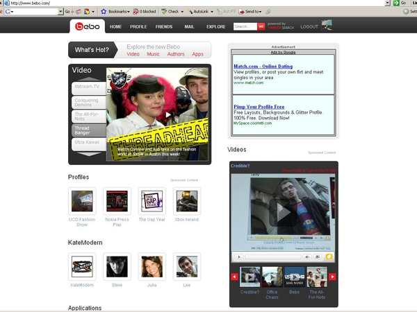 Bebo - AOL buys social networking site