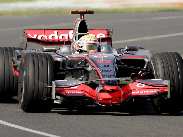McLaren are one of the 'conditional' entries for 2010