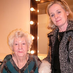 Gladys Sheehan with Roisin Duffy
