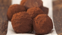 Handmade chocolate truffles - A great edible gift from Odlums for Valentine's Day
