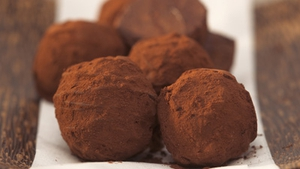 Treat yourself this Valentine's Day to these handmade chocolate truffles.