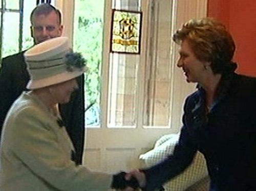 Queen Elizabeth & President McAleese - Belfast meeting
