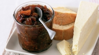 Cranberry & Fig Chutney - A delicious chutney that will compliment a full-flavoured cheese.