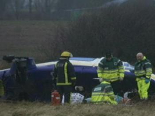 Dunshaughlin - Helicopter crashes in Co Meath