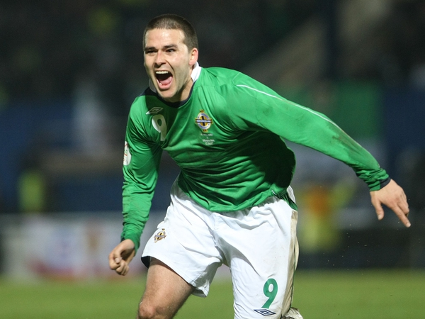 David Healy bagged the opener for Northern Ireland