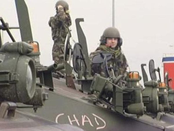 Defence Forces - Troops joining soldiers already in Chad
