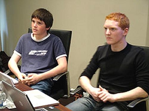 John & Patrick Collison - Software millionaires
