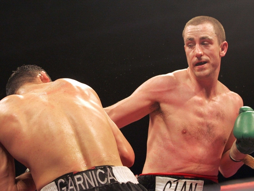 Paul McCloskey is facing a tough task in former World Champion Cesar Bazan