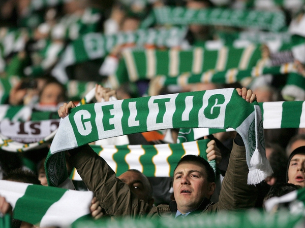 Celtic fans have gained a repuatation for travelling in large numbers to support their team