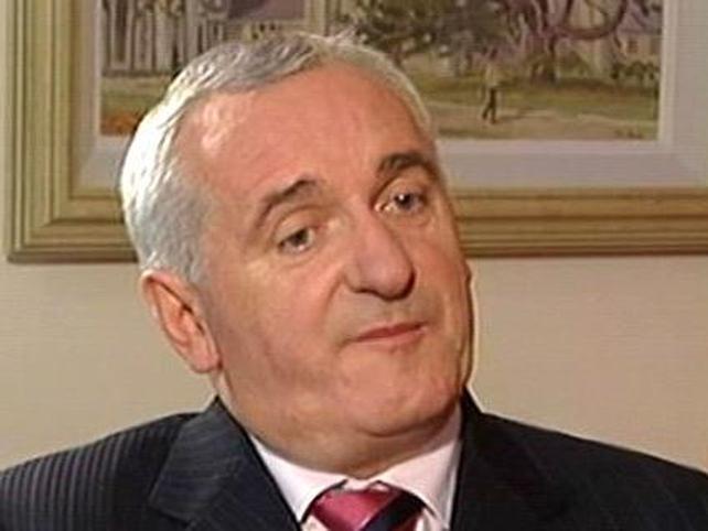 Bertie Ahern - To step down in May