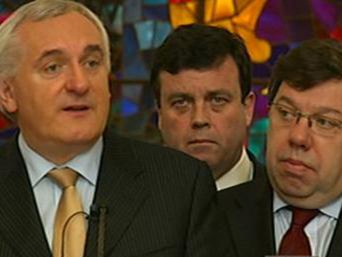 Bertie Ahern - No need for Cabinet tears