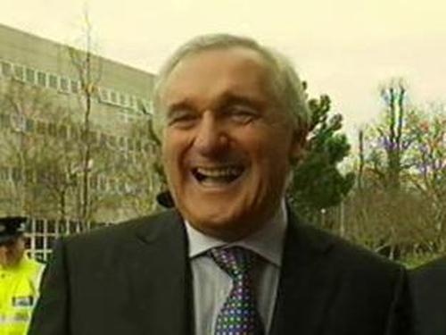 Bertie Ahern - In Belfast to mark Agreement