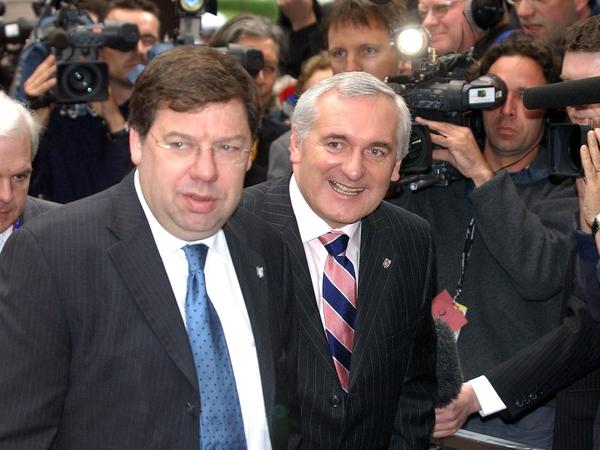 Cowen & Ahern - Tánaiste to succeed Taoiseach as FF leader