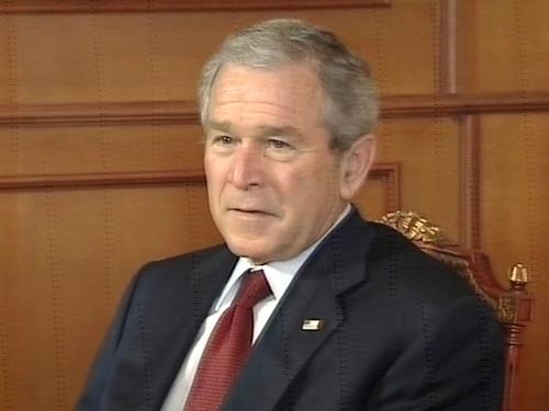 George W Bush - Set for talks in NI