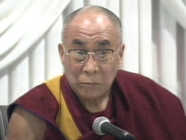 Dalai Lama - China's response to earthquake 'encouraging'
