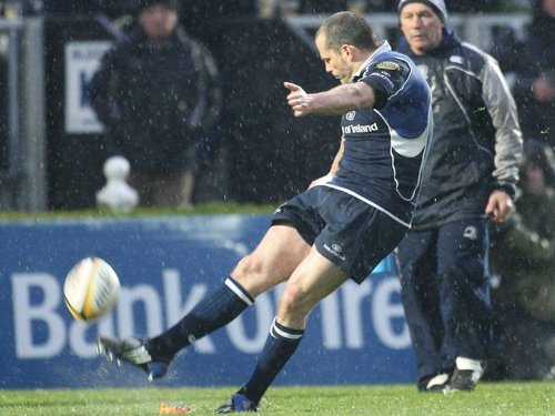 Felipe Contepomi hit 18 of Leinster's 21 points