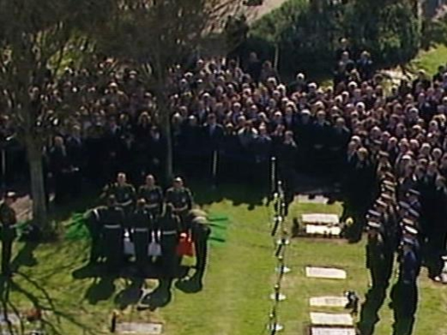 State Funeral - Hillery buried at St Fintan's cemetery