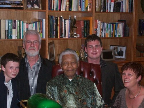Archbold & Mandela - Met in South Africa