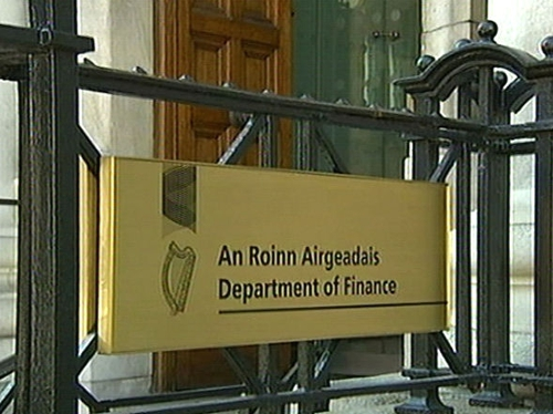 Dept of Finance - 2008 shortfall could now exceed €8bn