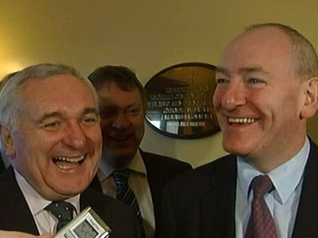 Ahern & Durkan - Joint party talks