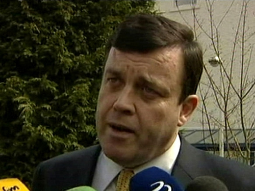 Brian Lenihan - Govt to take firm action