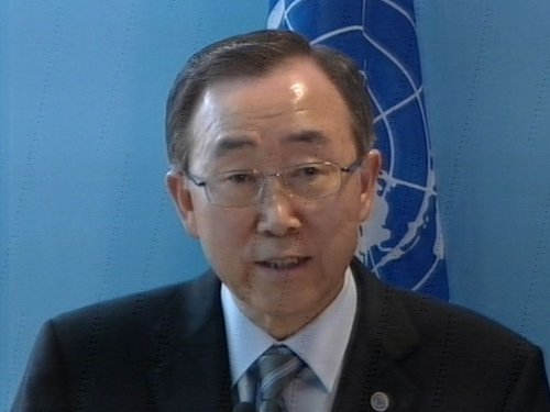 Ban Ki-moon - Call for €485m in funds for World Food Programme