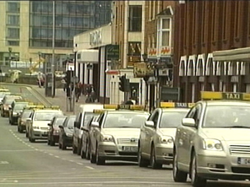 Taxis - Dublin protests