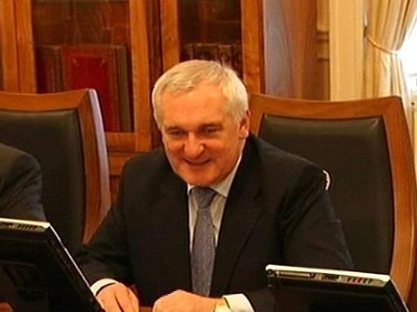 Bertie Ahern - Last Cabinet meeting