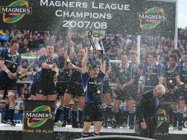 Magners League champions Leinster are the fourth best supported team in Europe