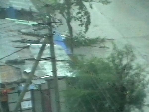 Burma - Hit by cyclone