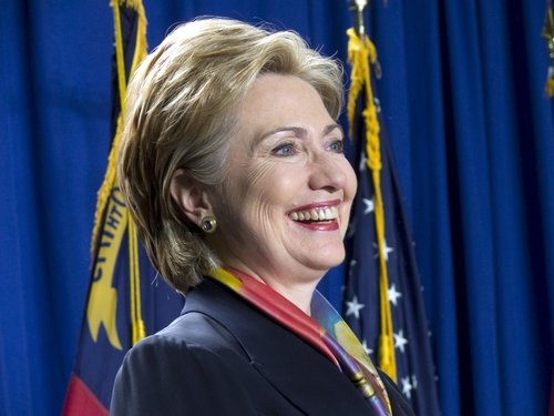 Hillary Clinton - Hoping for a 'big vote'